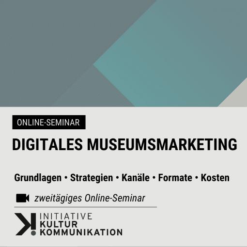 Crashkurs: Digitales Kultur- und Eventmarketing